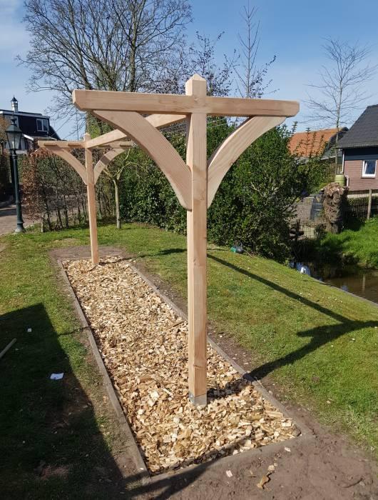 houten waslijn